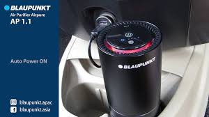 Máy lọc khí khử mùi ô tô Blaupunkt AP 1 - Giải pháp tối ưu cho chất lượng  không khí trong ô tô - YouTube