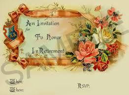 farewell retirement invitations