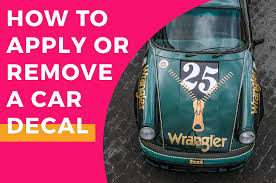How To Apply Or Remove A Car Decal Best Of Signs Blogs For Banners Printing Tips Services