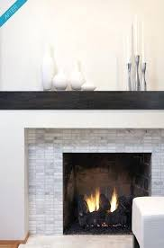 modern fireplace surround simple