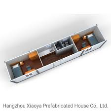 china assemble 40ft container home with