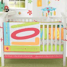 four piece crib bedding set