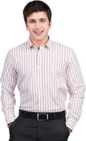 Dustin Wood Men Striped Formal Pink Shirt - Buy Pink Dustin Wood Men  Striped Formal Pink Shirt Online at Best Prices in India | Flipkart.com