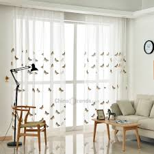 Dropshipping For Korean Pastoral Style Living Room Bedroom Children S Room Butterfly Embroidered Curtains Grommet 2pcs To Sell Online At Wholesale Price Dropship Website Chinabrands Com