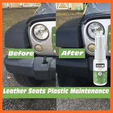 car cleaning plastic part leather seat