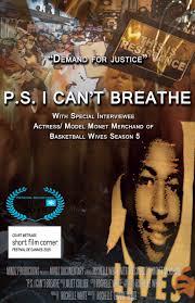 P.S. I Can't Breathe  Black Lives Matter cover