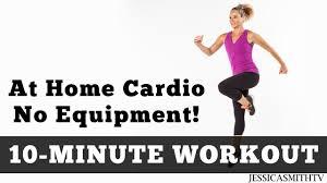 cardio workout no equipment