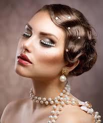 1920s flapper makeup tutorial