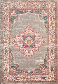 psn03 passion bohemian grey area rug