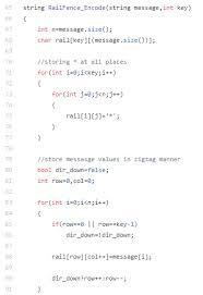 Encryption Decryption Using Hill Rail Fence Algorithm
