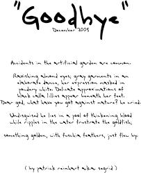 amazing humorous goodbye poems and than cute goodbye
