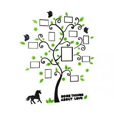 Removable Family Photo Frame Tree Sticker Living Room Wall Decals Diy Wall Decor 1351057 Virtrador