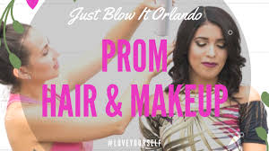 prom hair and makeup artist in orlando
