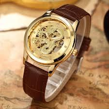 luxury dragon skeleton watch automatic