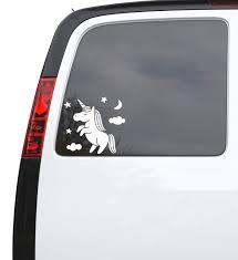 Auto Car Sticker Decal Unicorn Clouds Fantasy Art Truck Laptop Window Wallstickers4you