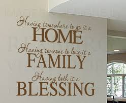 Wall Decal Sticker Quote Vinyl Having Somewhere To Go Is A Home Family Love F72 Disney Quote Wall Decals Wall Stickers Family Wall Stickers Quotes