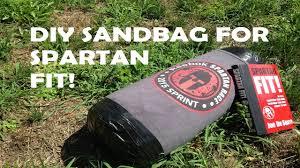 diy sandbag for spartan fit you