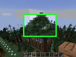 How To Make A Treehouse In Minecraft 11 Steps With Pictures
