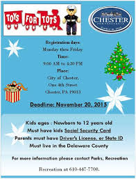 toys for tots registration city of