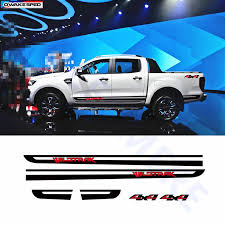 Wildtrak 4x4 Graphics Vinyl Decal Car Stickers Door Side Skirt Stripes For Ford Ranger Pick Up Trunk Exterior Accessories Car Stickers Aliexpress