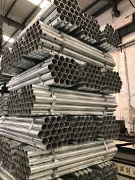 Galvanized Round Pipe Gi Pipe For Gas Greenhouse Fence Post China Pipe Steel Pipe Made In China Com