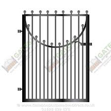 metal path garden gate 045 gates