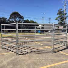 China Lowes Vinyl Cheap Price Livestock Temporary Cattle Fence Panels China Temporary Cattle Fence Cattle Panels