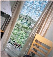 x 37 clear etched glass window