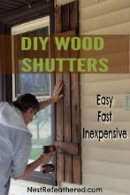 diy board and batten shutters easy
