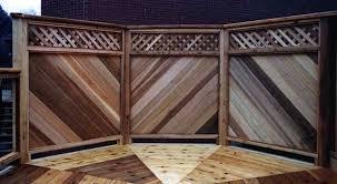 Privacy Screens Diy Deck Plans