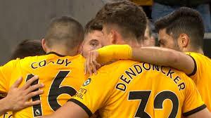 Matt Doherty scores header v. Arsenal