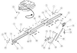 garage door schematic diagram exle