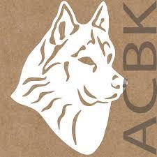 Husky Dog Vinyl Decal Siberian Husky Dog Outdoor Premium Vinyl Car Window Sticker Laptop Glass Phone Dog Face Christmas