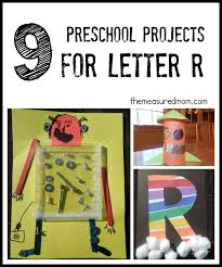 letter r crafts the mered mom