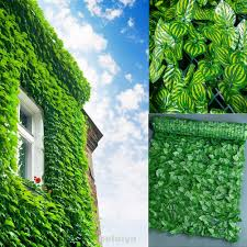 3m Patio Backyard Balcony Easy Install Outdoor Garden Leaf Decoration Artificial Hedge Privacy Fence Shopee Philippines