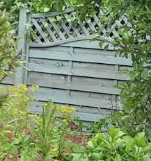 Grange Woodbury Horizontal Grooved Slat Fence Panel W 1 8m H 1 8m Pack Of 5 Departments Diy At B Q