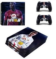 Fifa 18 Ps4 Skin Sticker Decal Cover For Sony Ps4 Playstation 4 Console And 2 Controller Skins In Stickers Buy Online Skins Decals At Best Prices In Egypt Souq Com
