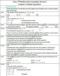 cbse class 7 mathematics simple