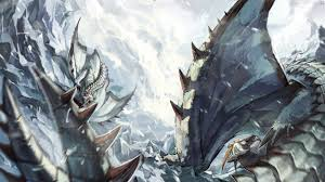 fantasy art dragon monster hunter