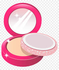 face powder png clipart picture