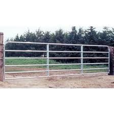Behlen Country Fence Gate 6 Bars Galvanized Steel Tube 50 X 14 40113148 Rona