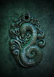 pendant of slytherin which is my house