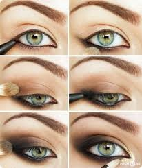 everyday makeup tutorials green eyes