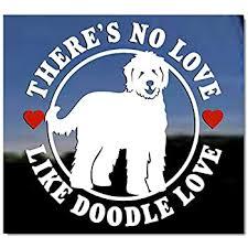 Amazon Com Mister Petlife I Love My Labradoodle Sticker Vinyl Auto Window V2 Doodle Automotive