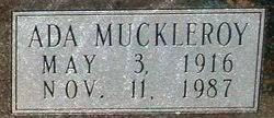 Ada Lou Jean Muckleroy Owens (1916-1987) - Find A Grave Memorial