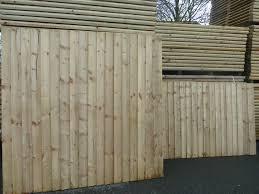 Pressure Treated Feather Edge Fence Panels Garden Village Developments Supplies Ltd