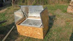 how to build a homemade solar oven