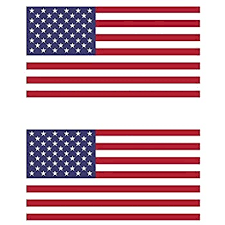 Amazon Com Kw Vinyl Magnet Two Pack American Flag Magnetic Vinyls Usa Us America Flags Stars And Stripes Car Magnet Bumper Sticker Automotive
