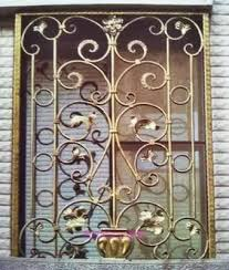 Factory Outlets Forged Iron Window Grilles Doors And Security Doors Security Windows Fence Fence Custom Venting Grill Pin Door Opendoor Metal Aliexpress