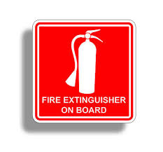 E Vinyl Decal Sticker Extinguisher Safety Nasa Scca Nhra 2